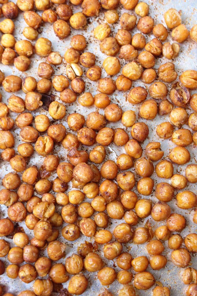 roasted chickpeas perfect for kids