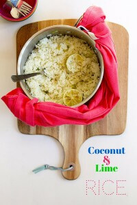 Coconut and Lime Rice