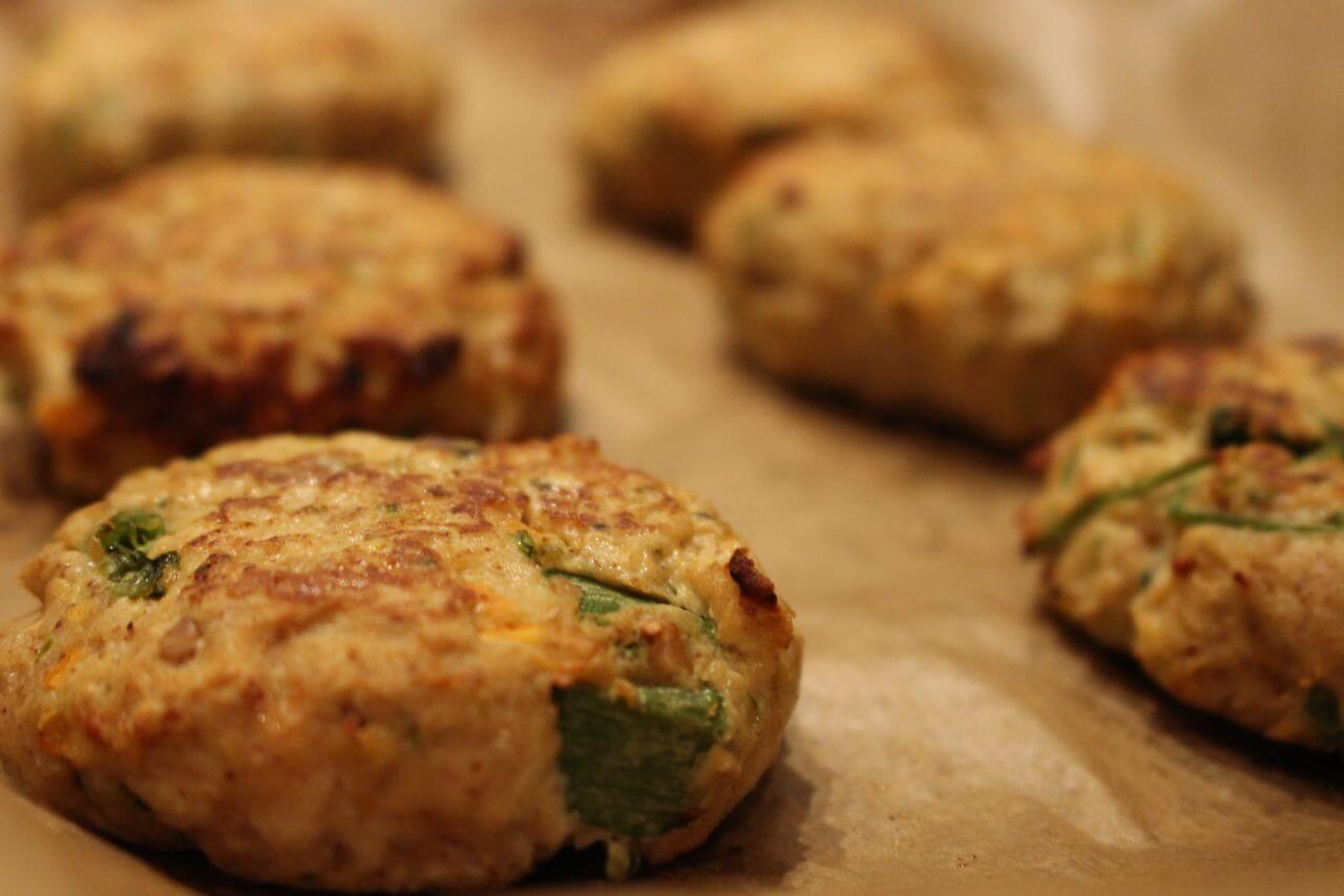 Chicken Satay Burgers Recipe — Dishmaps