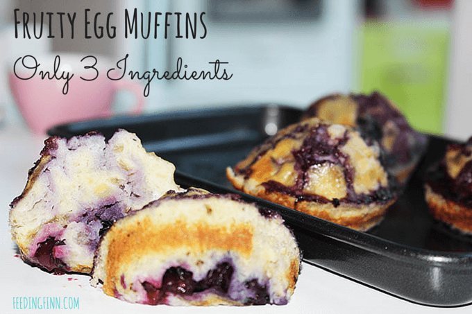 Fruity Egg Muffins 3 ingredients