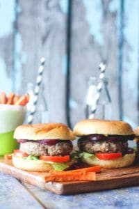 Beef Burgers with Hidden Veggies