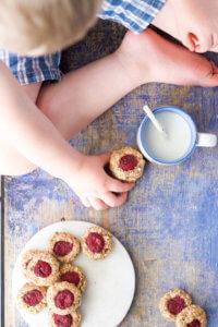 Healthy Thumbprint Cookies